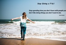 Stop Giving a F*ck