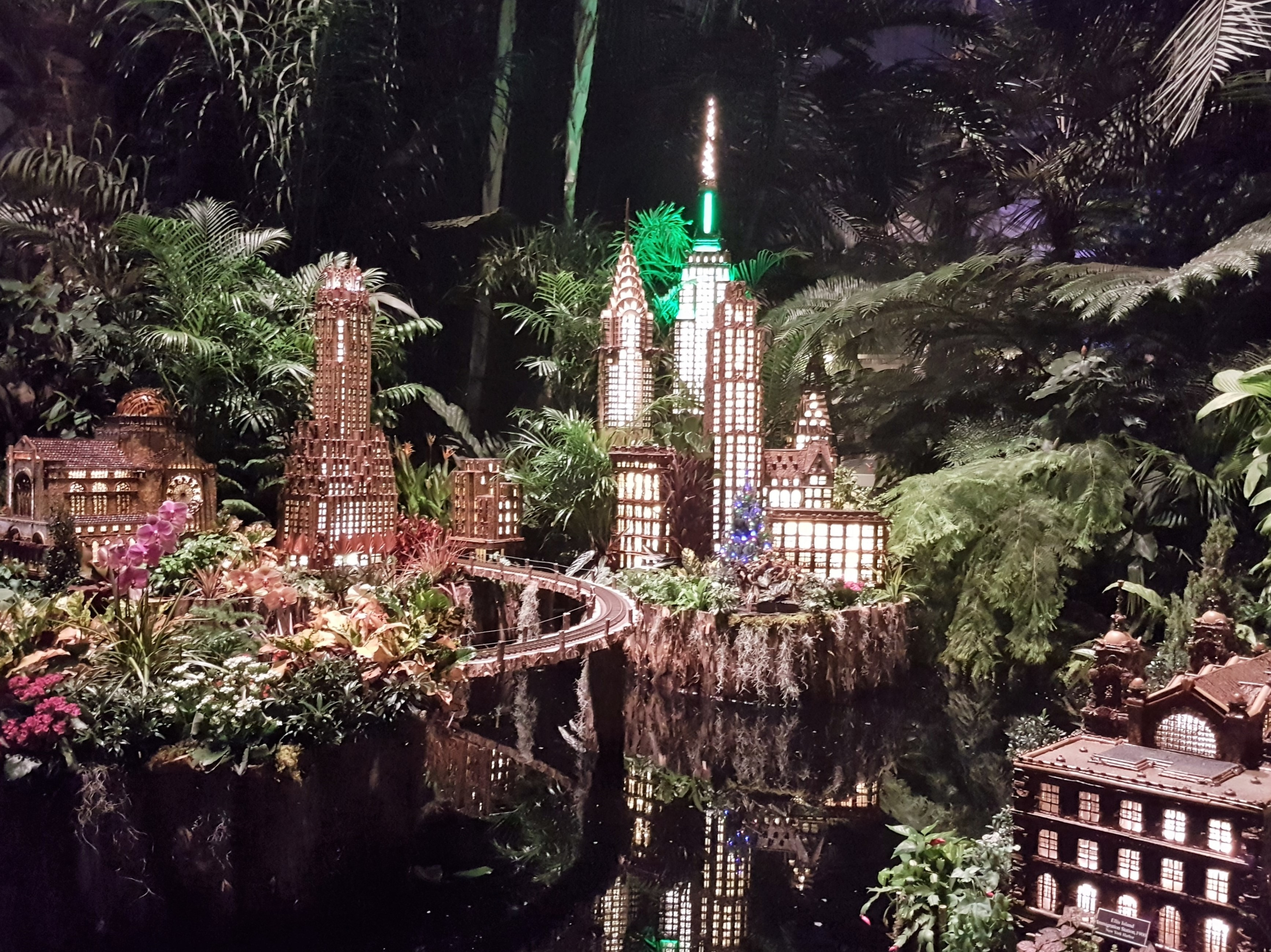 Holiday Train Show At The New York Botanical Garden 2018