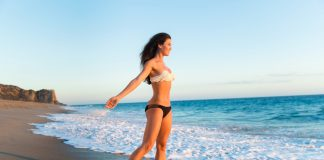 How to get a smaller waist and flat stomach fast