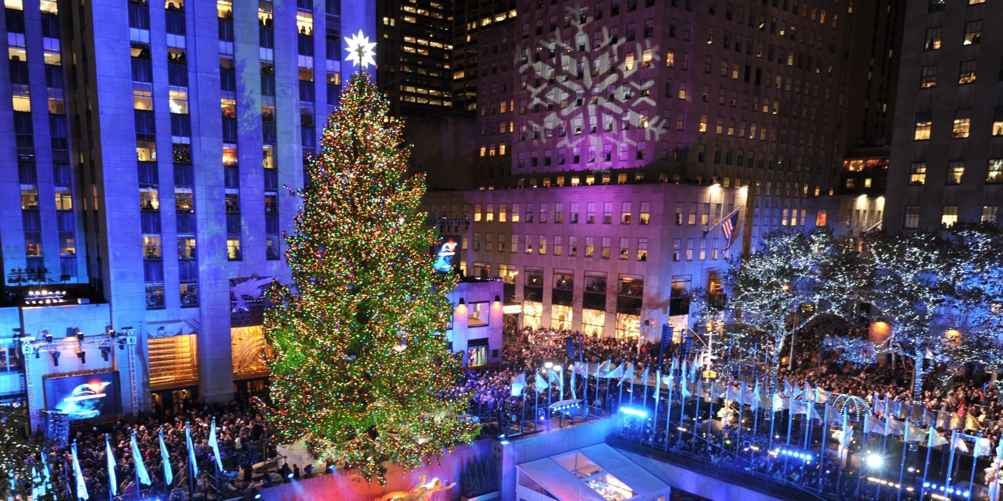 Rockefeller Christmas tree lighting 2018 - New York Magazine Events