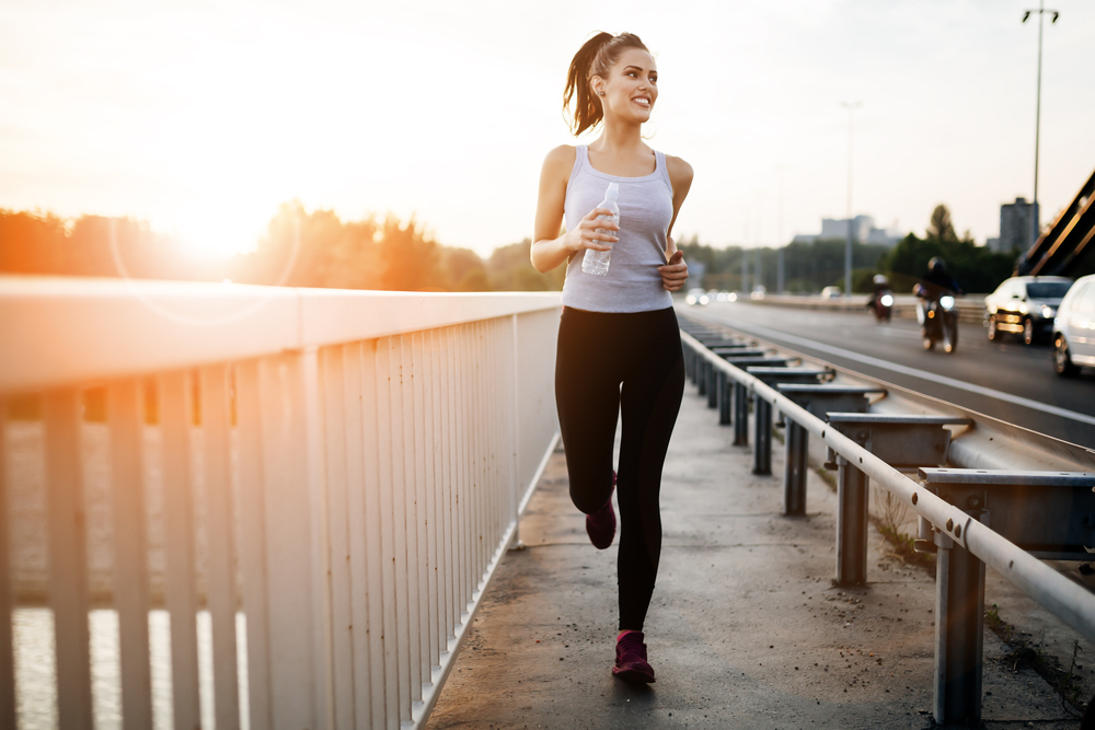 lose weight just by running