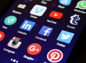 Online business, social websites, social media