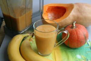 pumpkin smoothie for glowing skin