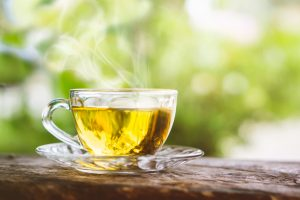 Green tea to reduce vessels and arteries clogging
