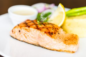 Salmon fish reduces chances of obstructions in your arteries