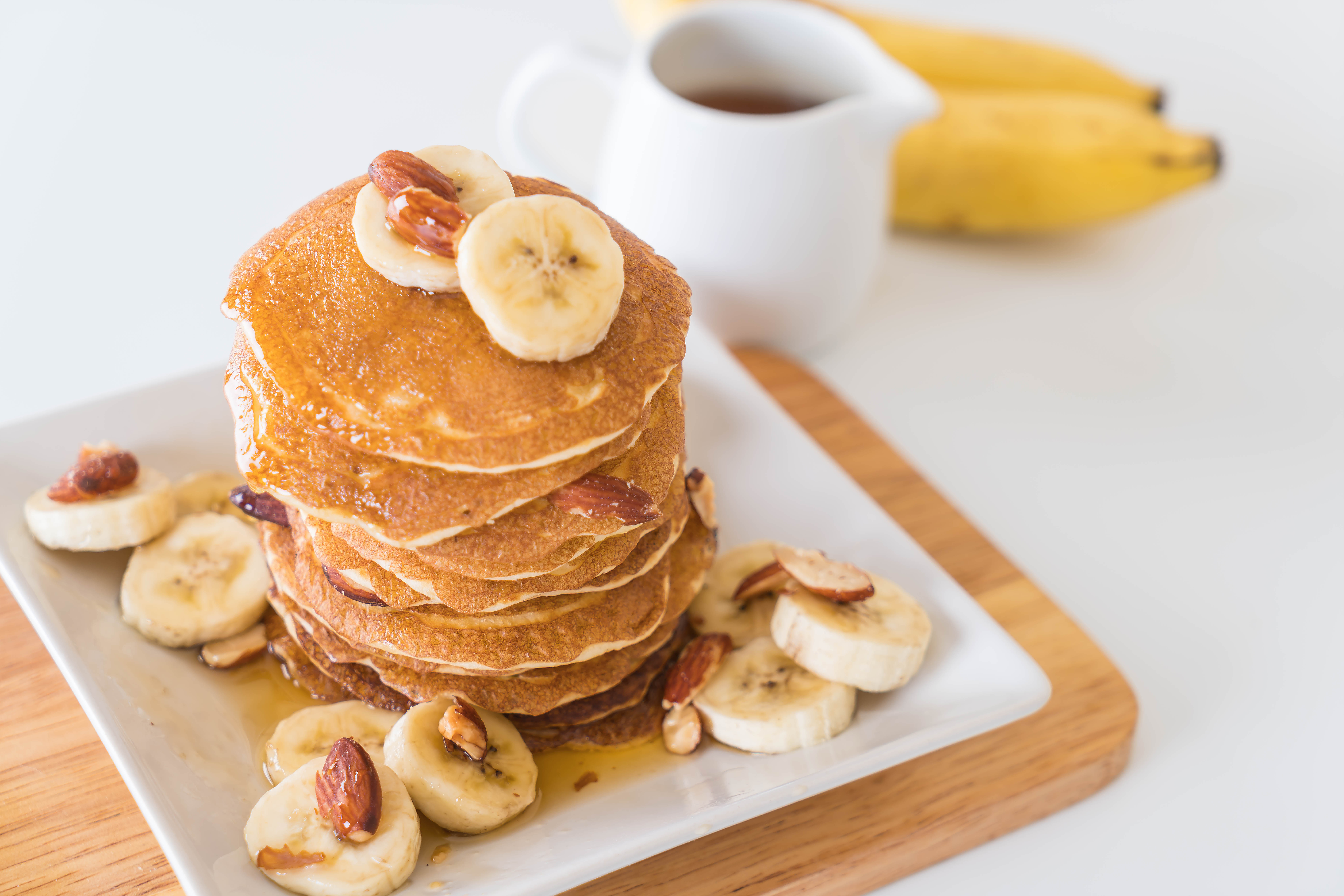 pancake rich with protein, healthy breakfast