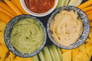 tahini guacamole are better than butter or other pastries