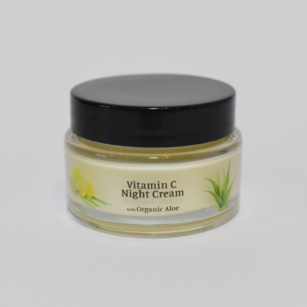 vitamin C night cream brightening