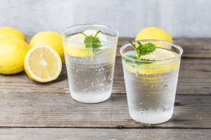 Lemon juice mixed with water helps to fight constipation