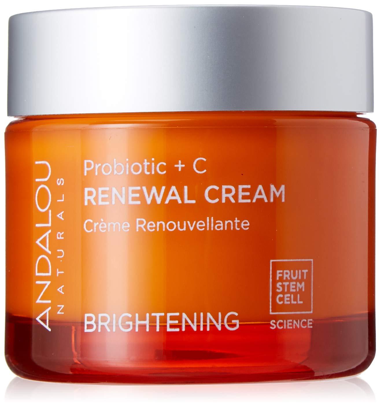 Andalou Naturals Brightening Probiotic + C Renewal Cream