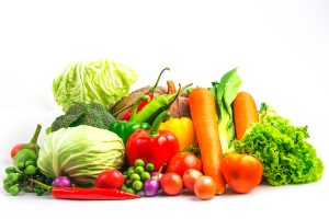 Vegetables contain chlorophyll, which protects the skin from UV damage and free radicals