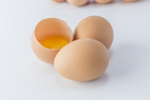 Eggs contain pure collagen in the yolk and eggshell membrane