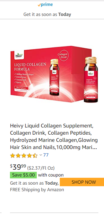 liquid collagen supplements