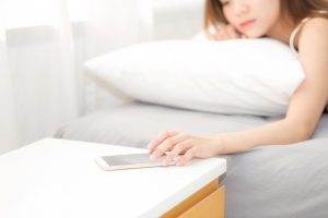 Keeping your electronics away from you before sleep helps to calm down and fall asleep faster, sleep better