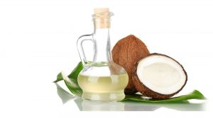 Coconut oil moisturizes and cleans skin, antibacterial properties, skincare