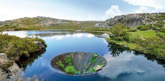 Conchos sinkhole in Portugal