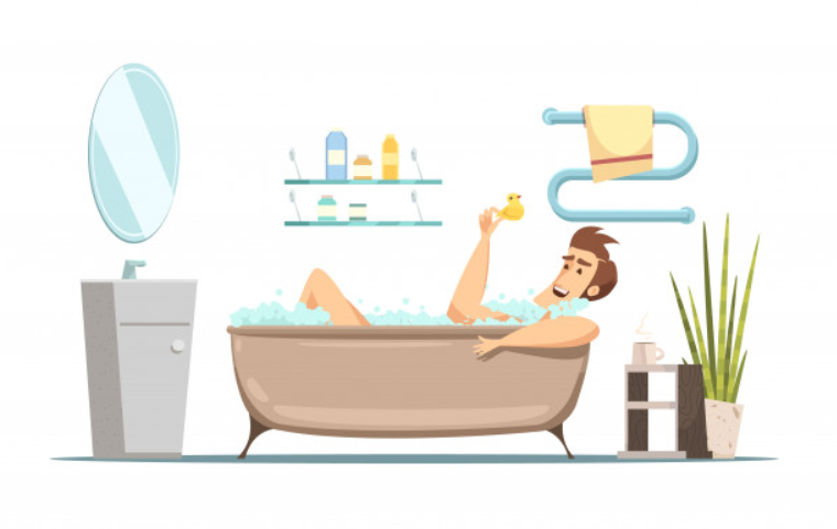 Is taking a bath good for you?