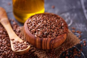 Linseed oil contains large amount of omega-3 polyunsaturated fatty acids that helps mobility of joints