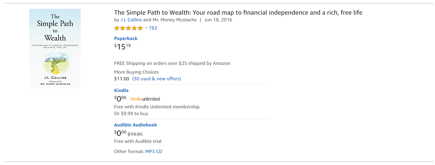 book on wealth
