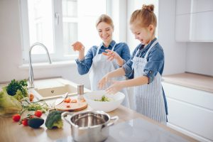 meals preps with kids