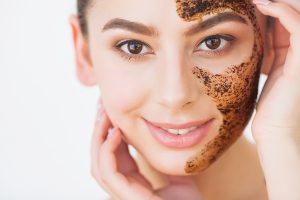 skin exfoliation helps remove the dead skin cells, evens the skin tone, controls the sebum production, and gives you a glowy look
