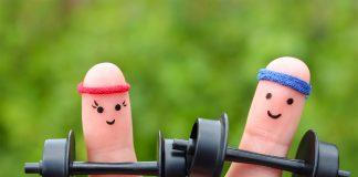 Finger gymnastics for brain development