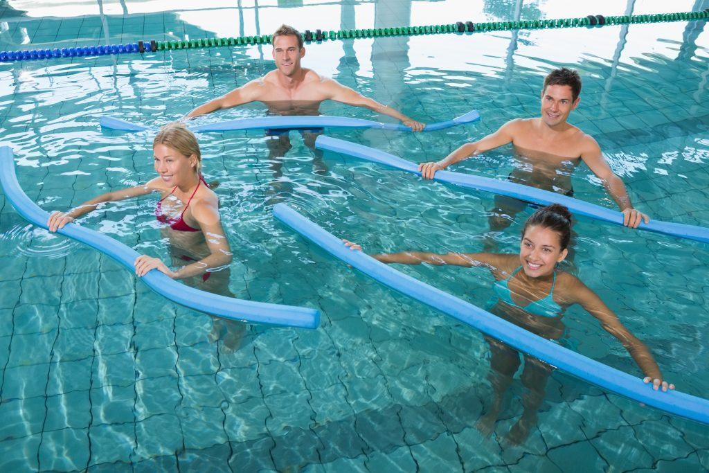 Aqua aerobics is best workout