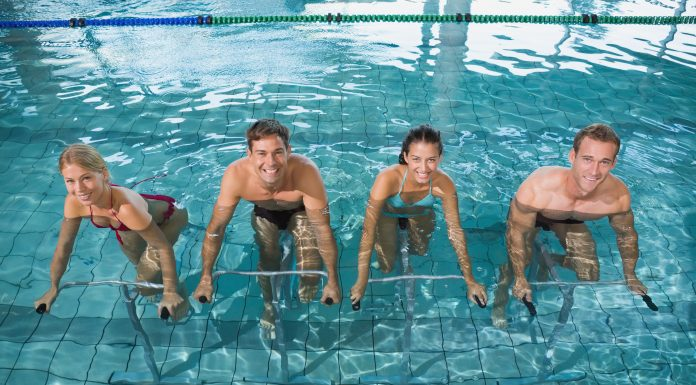Aqua aerobics is best workout
