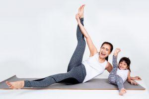 exercising is good parent's habit, positive motivation for kids