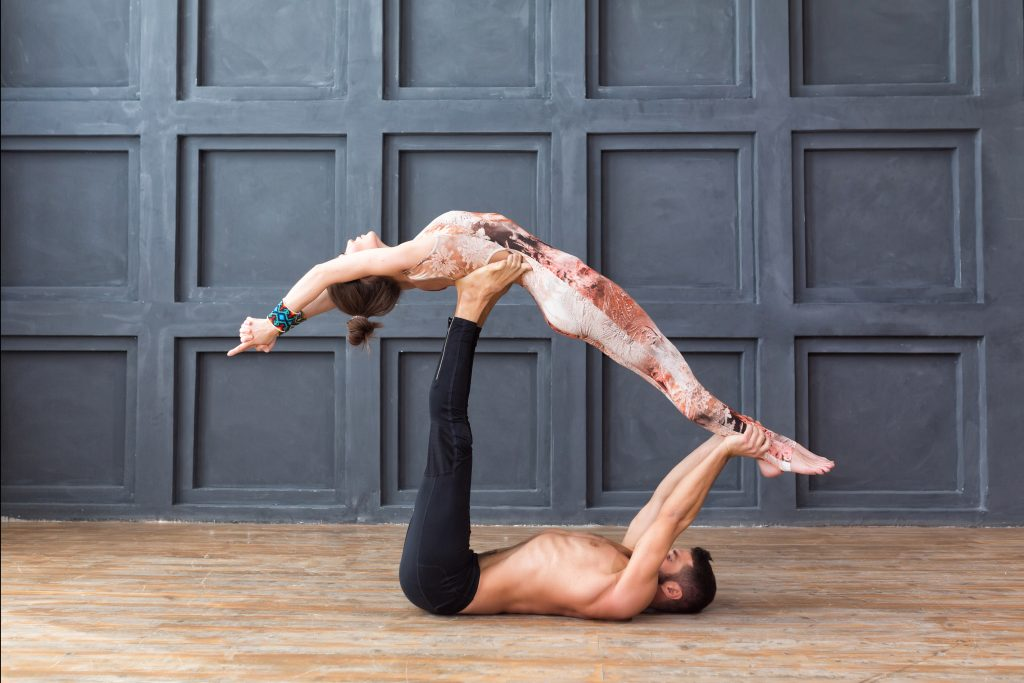 Acroyoga for couples