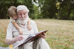 grandparents help in childcare, life-work balance