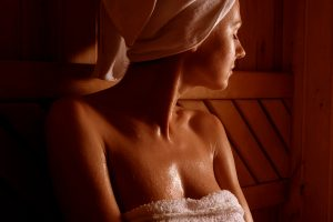 Sauna helps in weight loss
