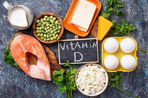 UV triggers vitamin D vitamin D is contained in food