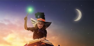 acts of kindness on Halloween, Magic of Halloween, kind witch