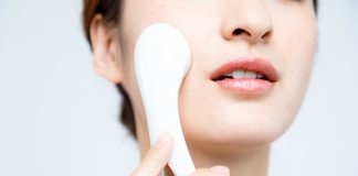 Electric facials for skincare beauty tools and electronic devices