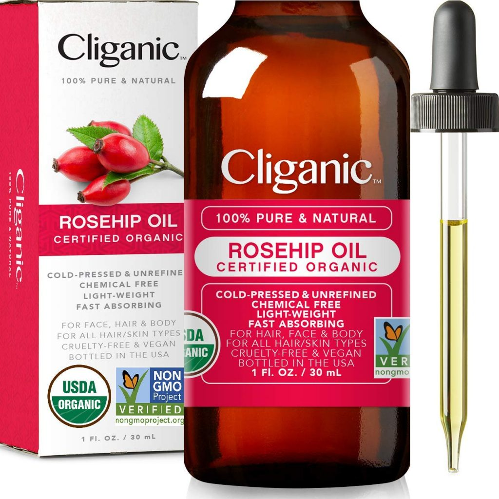 Rosehip oil - organic beauty product natural moisturiser