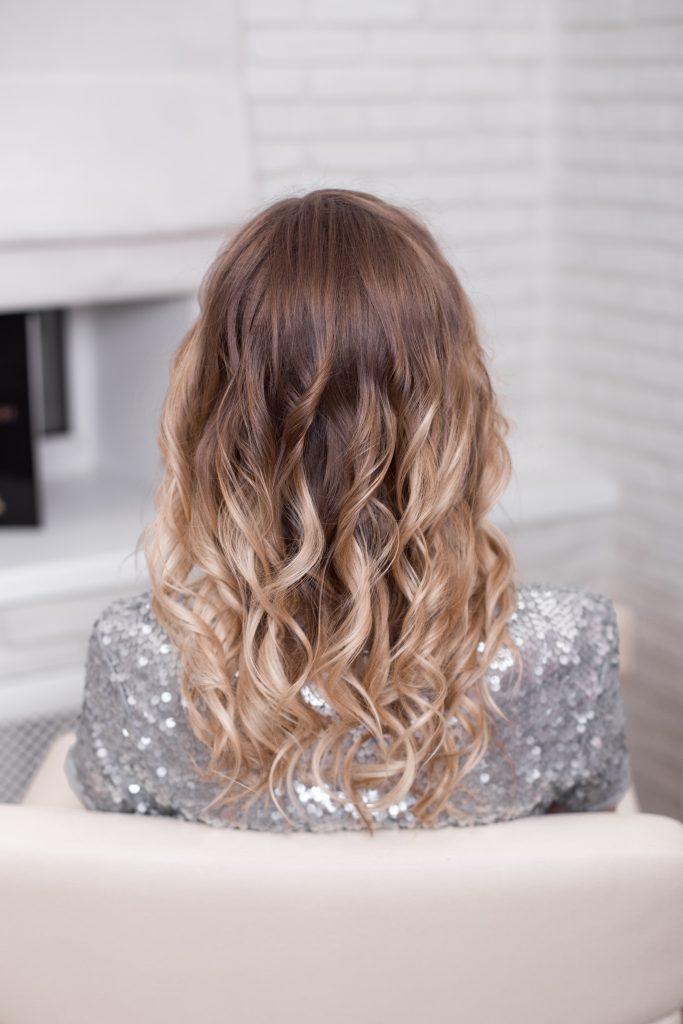 Types of hair highlighting