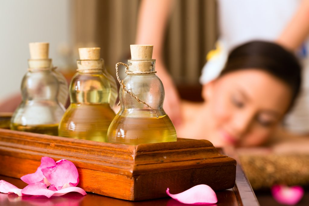 cosmetic facilities, calm down the nerve endings, aromatherapy, irritated nevous system